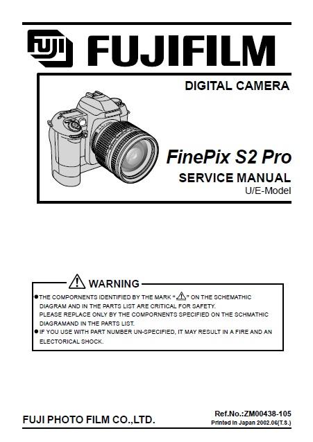 photo extreme fujifilm finepix s2 pro service repair manual rh photoextreme it FinePix S7000 FinePix S5700