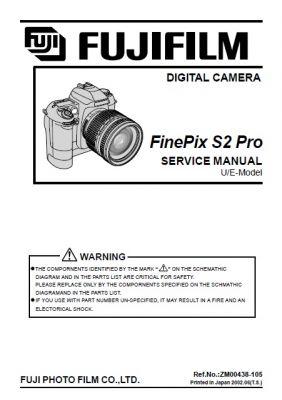 photo extreme fujifilm finepix s2 pro service repair manual rh photoextreme it Review Fujifilm FinePix S2 Pro FinePix F31fd