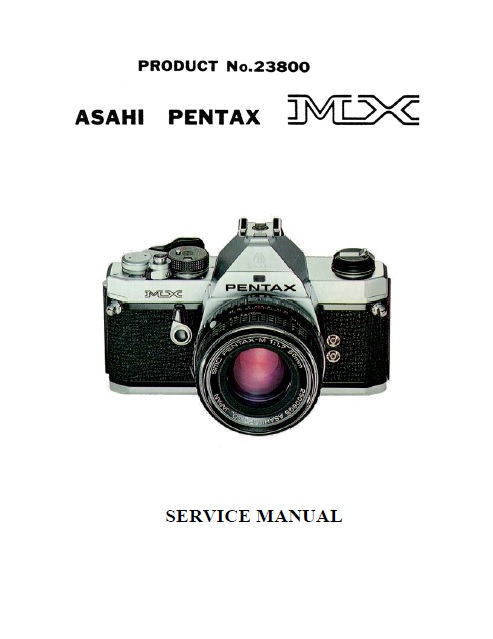 photo extreme pentax mx service repair manual rh photoextreme it Penxtax LX Penxtax LX